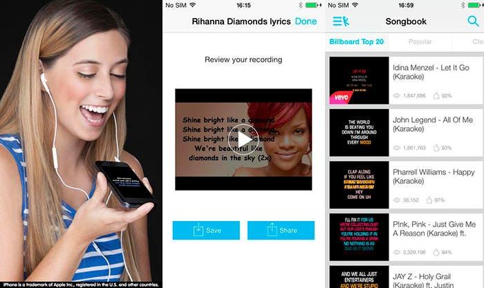 Canta con ¡Karaoke Gratis! para tu iPhone