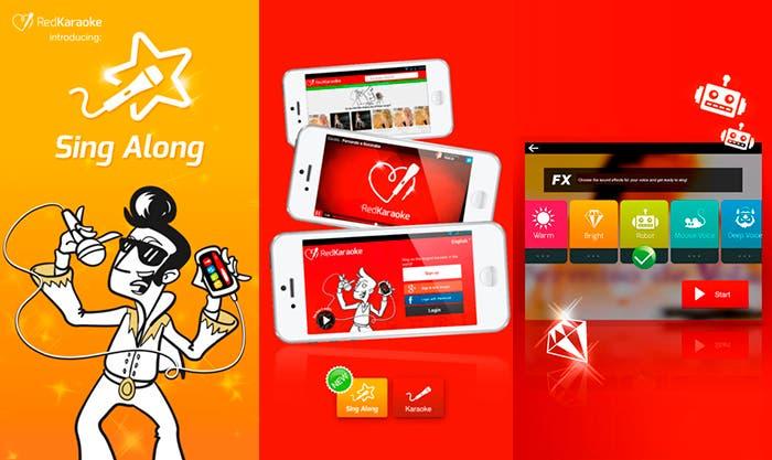 Red karaoke, tu aplicación de karaoke para iPhone