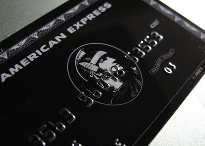 Tarjeta de American Express