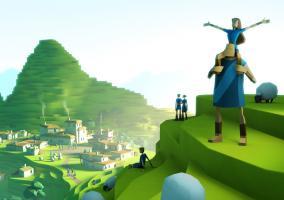Godus en iOS de Peter Molyneux