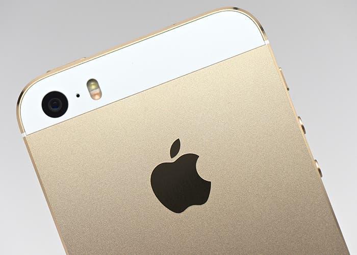 Parte trasera del iPhone 5s
