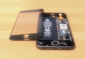 Interior del iPhone 6