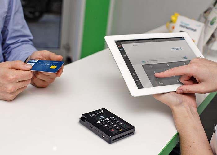 payleven en un iPad