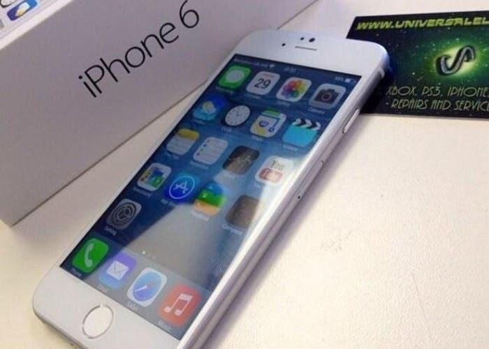 Cómo podría quedar el iPhone 6