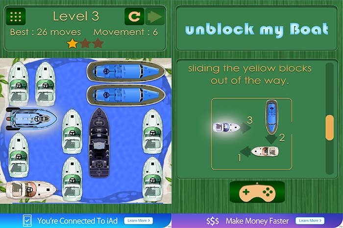 Capturas de UnblockMyBoat