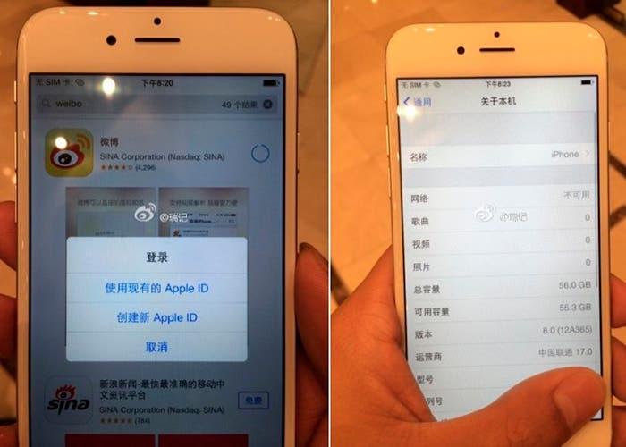 Filtración del iPhone 6 en funcionamiento