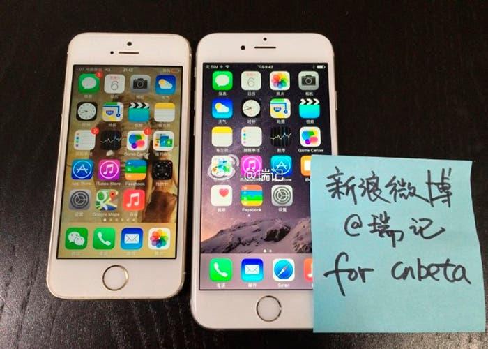 Se filtra en China el iPhone 6