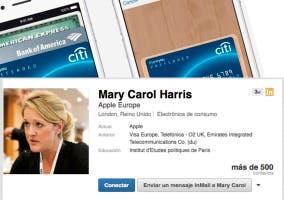 Apple Pay ficha a un alto cargo de visa