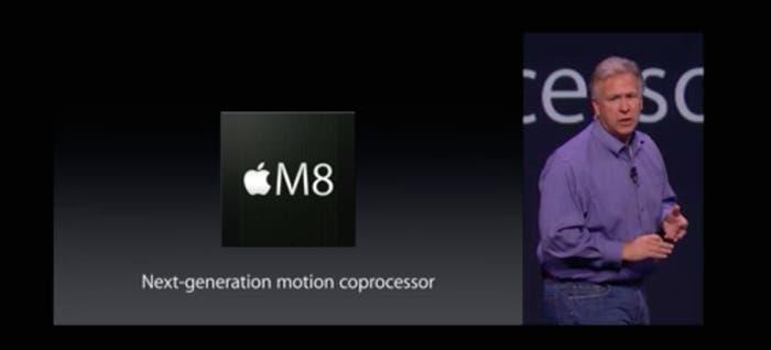 Nuevo chip M8 de Apple