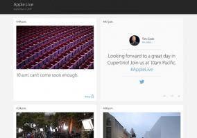 Blog en vivo del evento de Apple