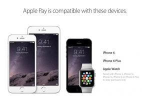 Dispositivos compatibles con Apple Pay