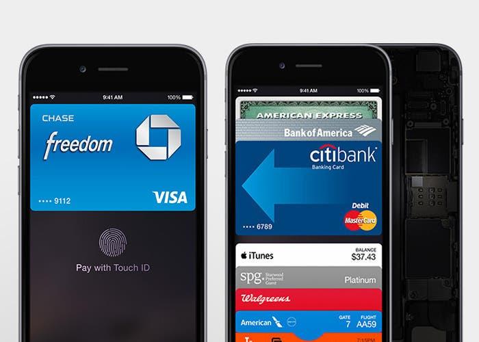 iPhone funcionando con Apple Pay