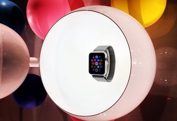 Apple Watch en la presentación de Colette