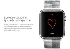 Mensajes de amor con el Apple Watch