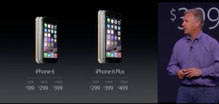 iPhone 6 / 6 Plus Precios