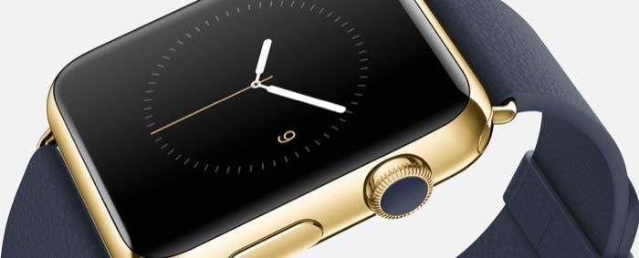 Edición dorada del Apple Watch