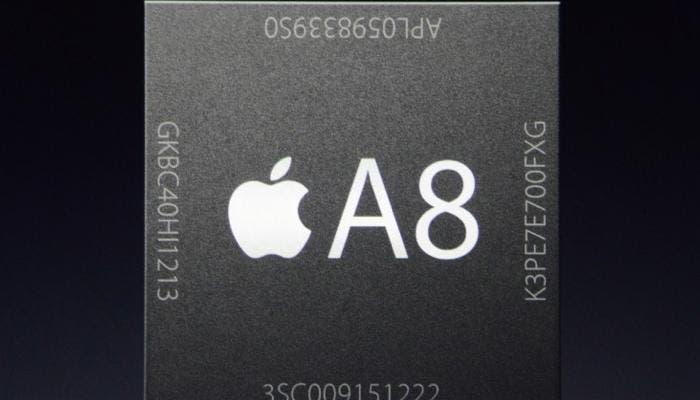 Nuevo procesador A8 para la nueva generación de iPhone 6 y iPhone 6 Plus