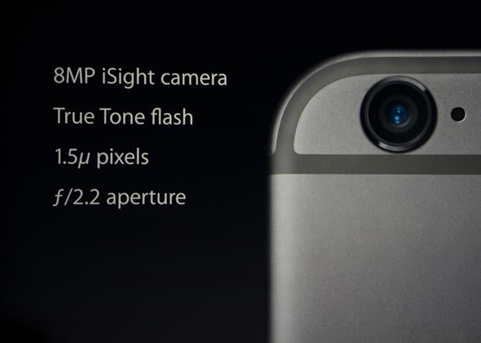 Nueva cámara del iPhone 6 y 6 Plus
