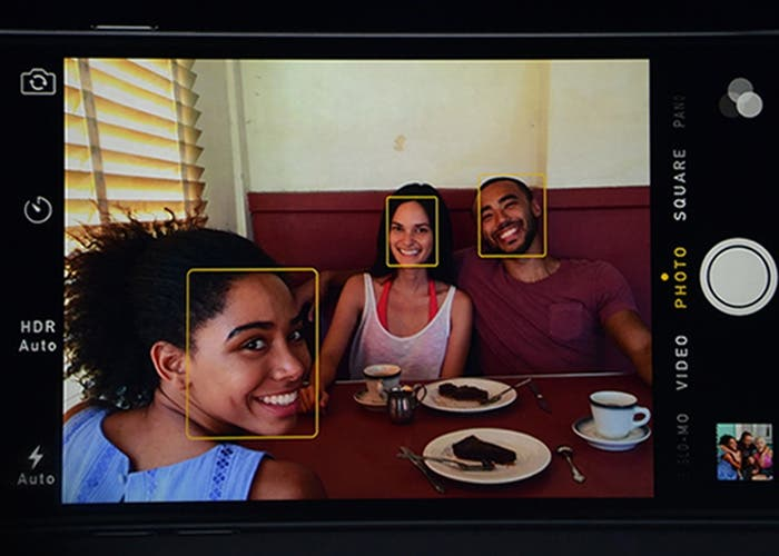 Detección caras