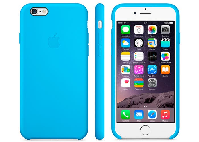 Funda de silicona oficial para el iPhone 6