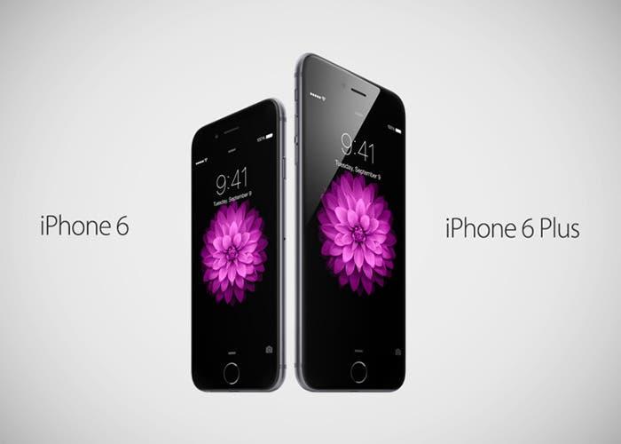 Cara a cara: iPhone y iPhone 6 Plus