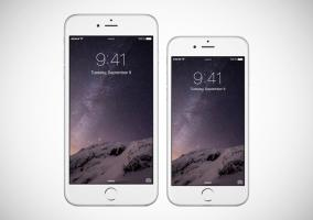 Comparativa de las pantallas del iPhone 6 y iPhone 6 Plus