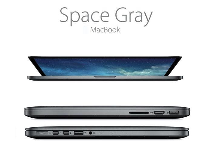 MacBook Pro en Space Gray