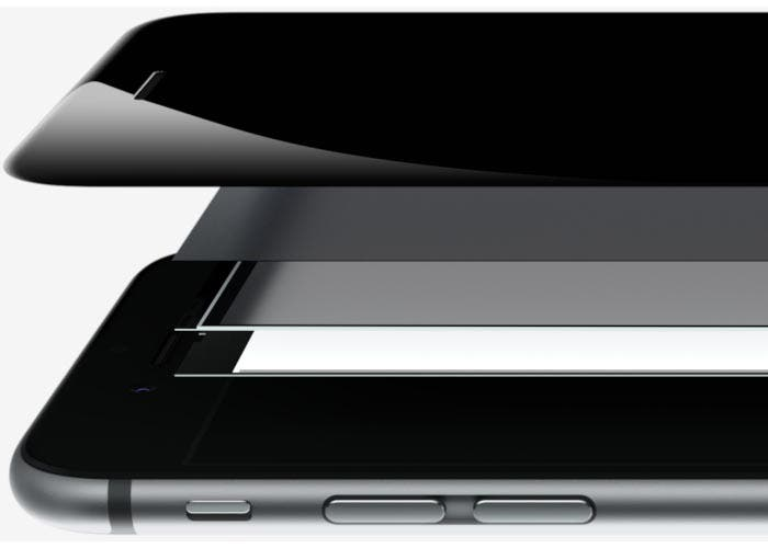 Las distintas capas de la pantalla del iPhone 6