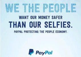 Las personas quieren su dinero más seguro que sus selfies