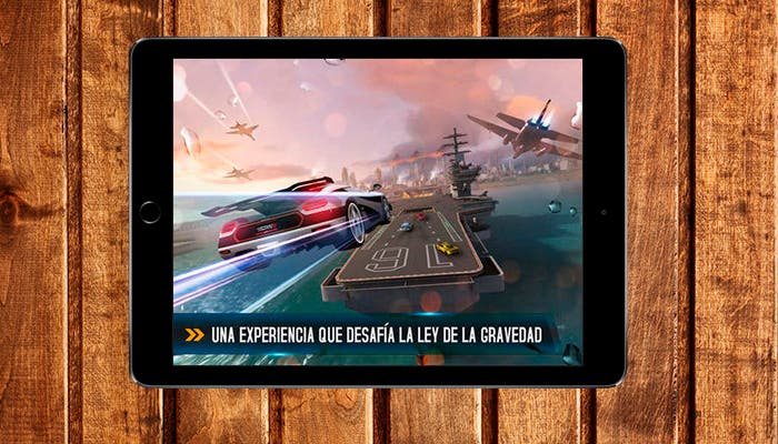 Asphalt 8: Airbone en iPad Air 2