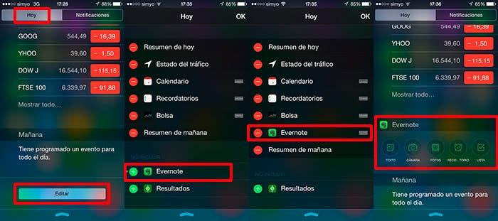 Aprende a añadir widgets en tu Centro de Notificaciones de iOS 8