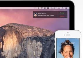Usar el iPhone desde el Mac