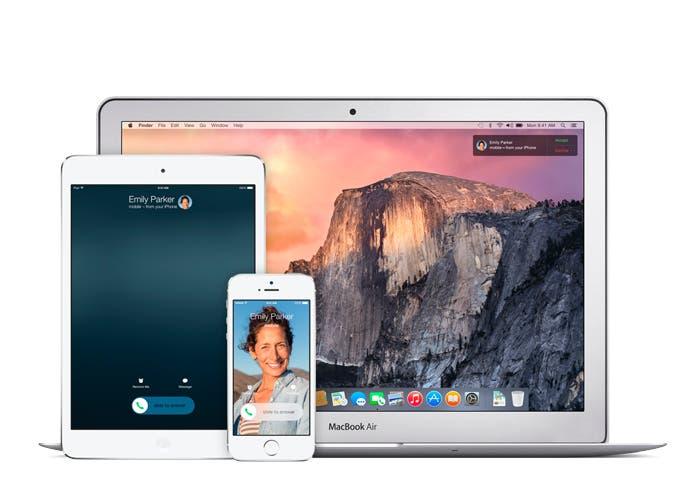 Utilizar Handoff en iOS 8 y OS X Yosemite