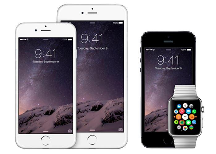 Lanzamiento del Apple Watch en 2015