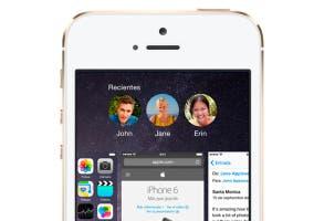 Contactos en la multitarea de iOS 8