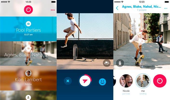 Nueva red social de Skype, Skype Qik