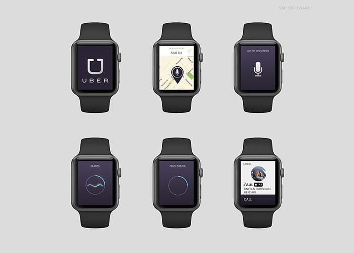 Uber para Apple Watch