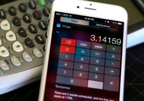 Widget de PCalc en el Centro de Notificaciones de iOS 8