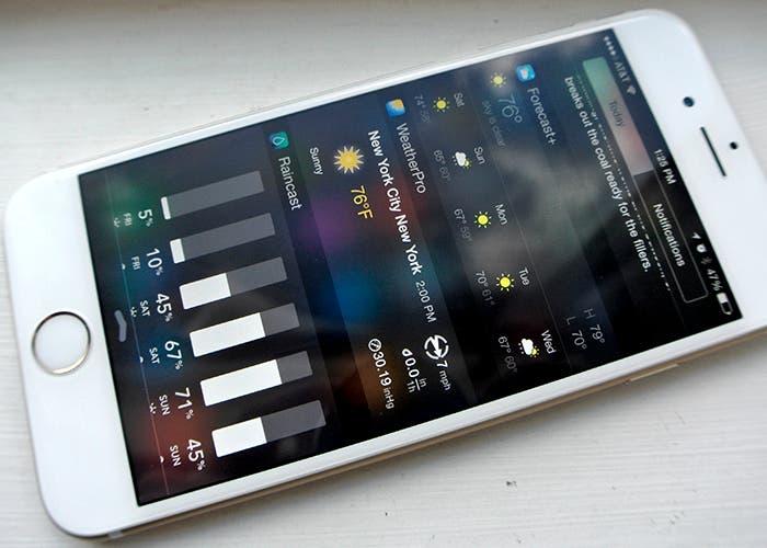 Widgets en Centro de Notificaciones para iOS 8