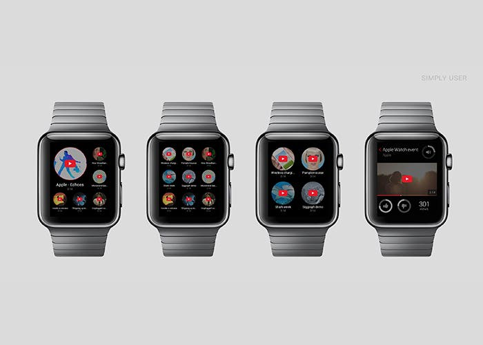Youtube en Apple Watch