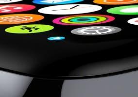 Vista de la interfaz del Apple Watch