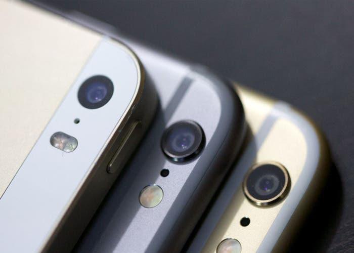 iPhone seis Plus, iPhone seis y iPhone 5s en detalle sus cámaras