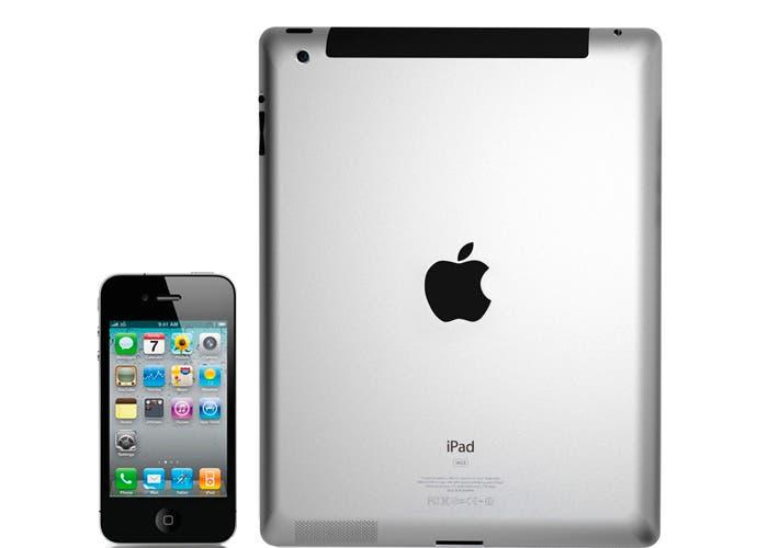 Imagen iPad 2 e iPhone 4s