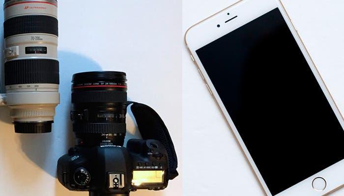 Comparativa cámara iPhone 6 plus y Canon EOS 5D Mark III