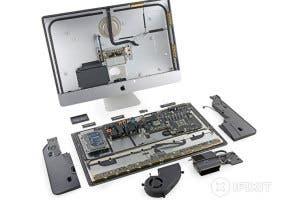 Despiece del nuevo iMac Retina por iFixit