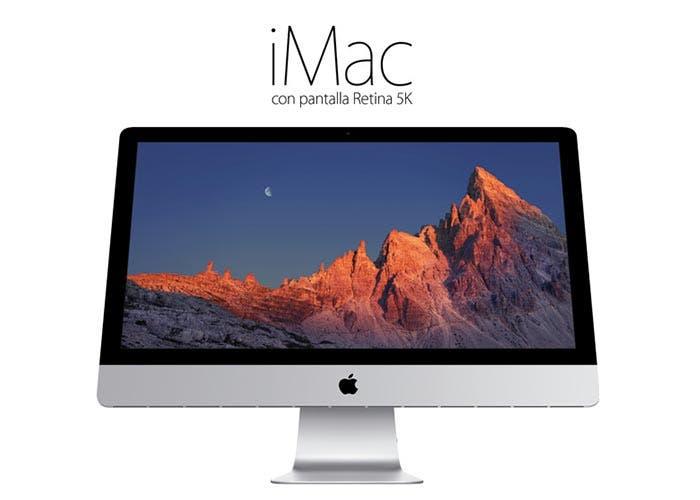 El nuevo iMac con pantalla Retina