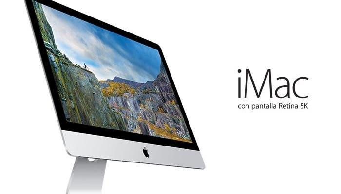 Pantalla Retina 5K en el iMac