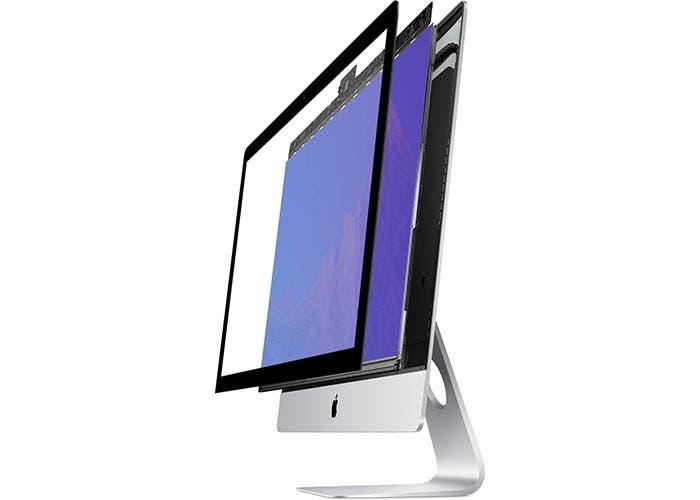 Despiece del panel del iMac con pantalla Retina