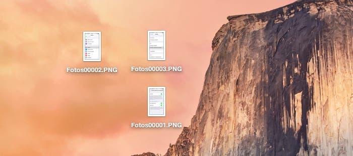 Imágenes renombradas masivamente con OS X Yosemite