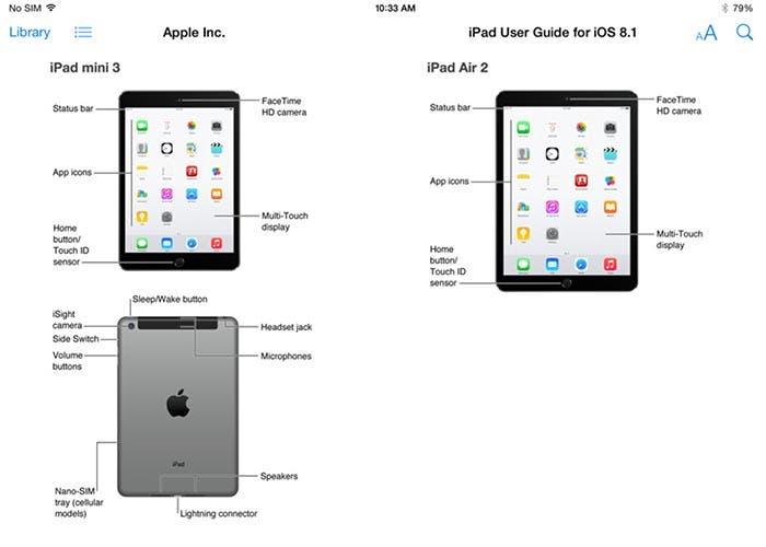 Apple filtra accidentalmente el iPad Air 2 y iPad mini 3